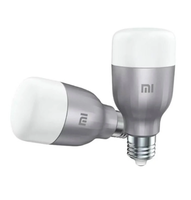 Лампа Xiaomi Mi LED Smart Bulb (White and Color) 2-Pack